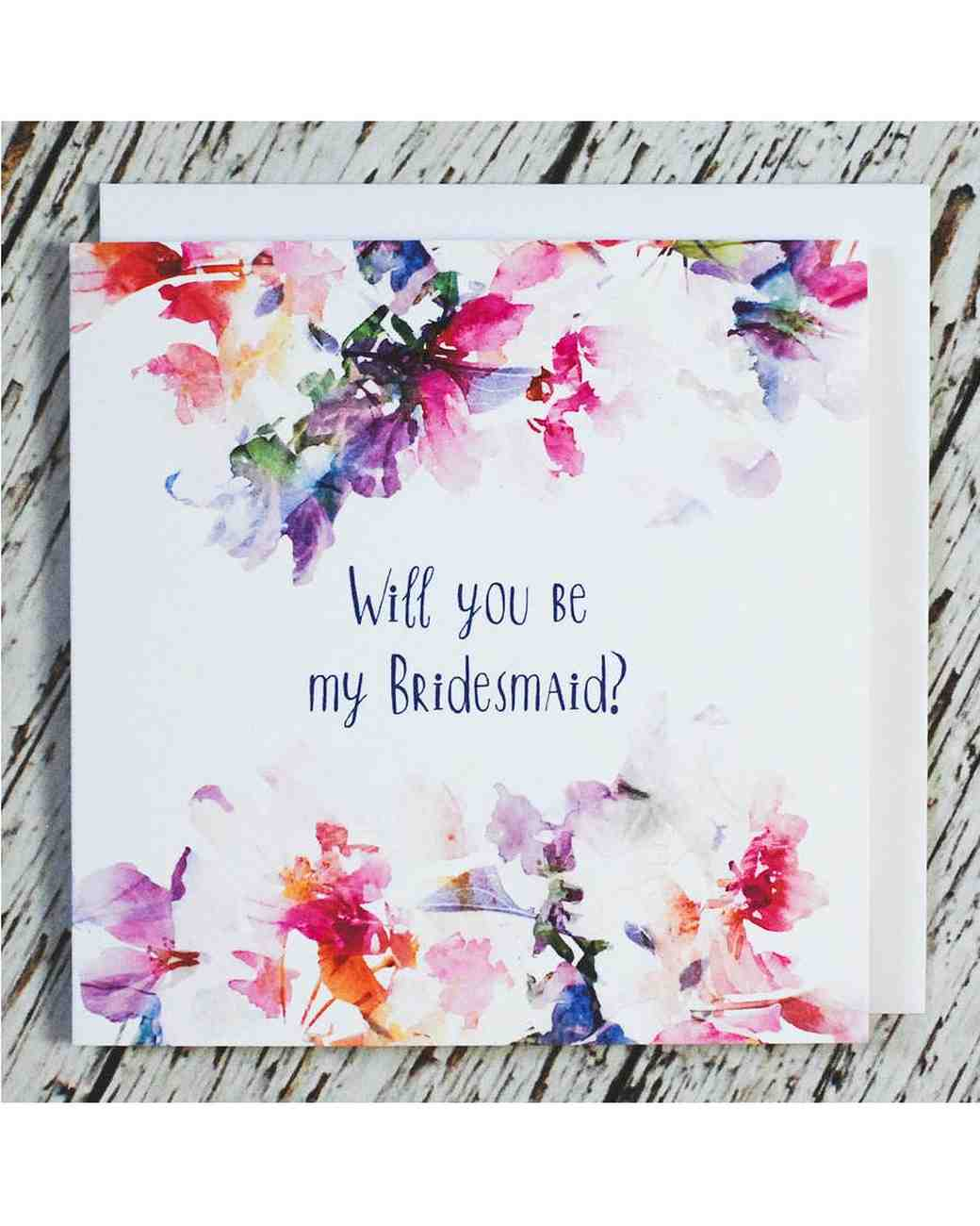 "Not On The High Street Wedding Gifts: 12 ""Will You Be My Bridesmaid?"" Cards We Love"