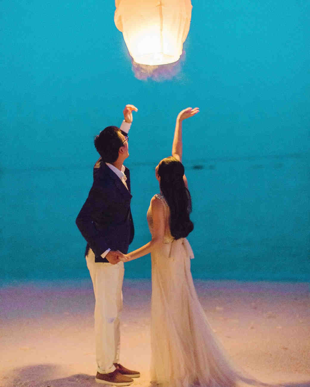 wedding wish lanterns