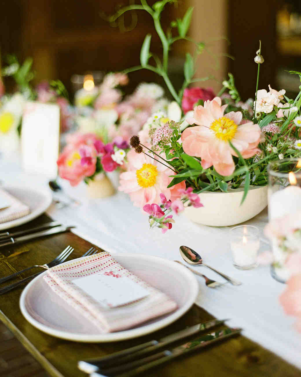 The prettiest peony wedding centerpieces martha stewart