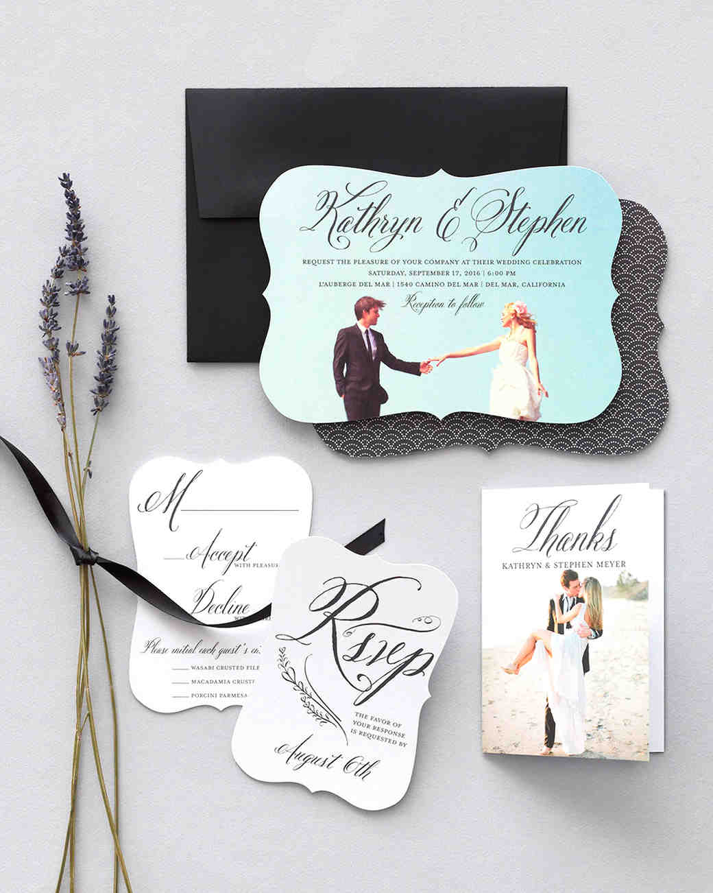 Wedding paper divas bridal stationery martha stewart weddings junglespirit Gallery