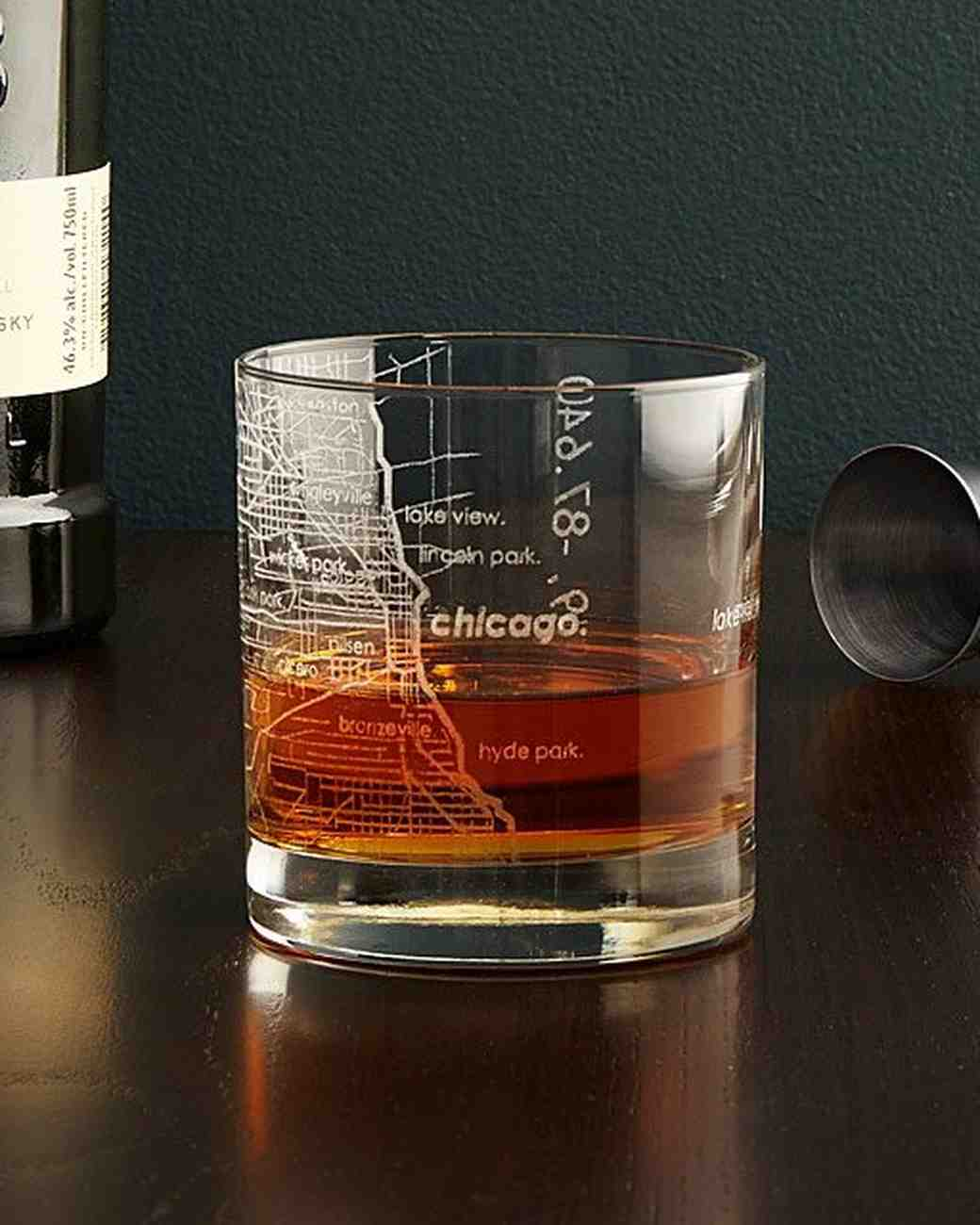 groomsmen gift guide uncommon goods city map glassware