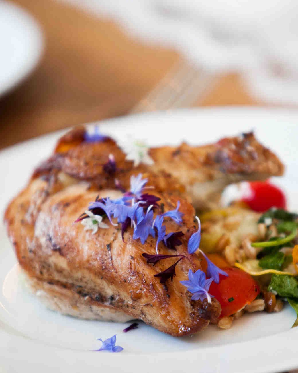 A Chicken Dish with Herbs