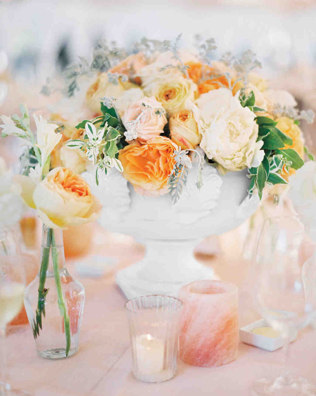 Buy Trendy and Chic orange wedding party flowers pictures trends