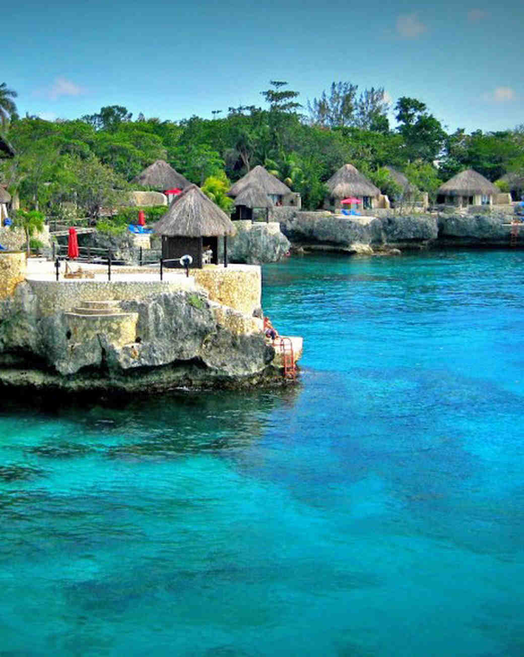 romantic caribbean destination jamaica rockhouse hotel