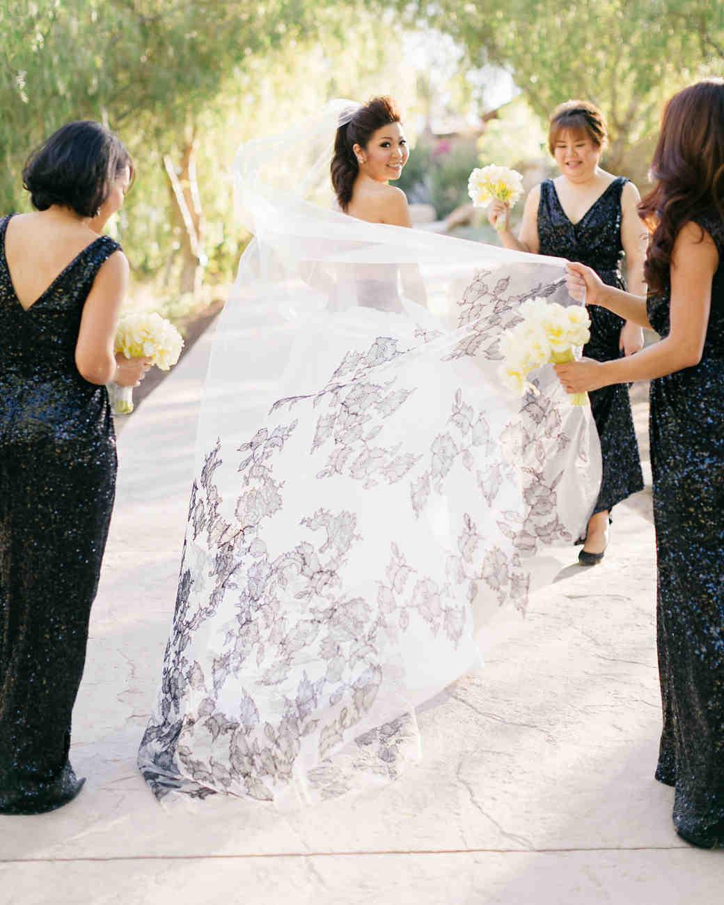 floral veil