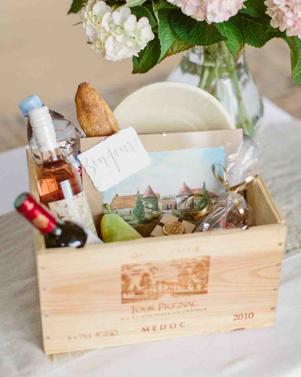 French Picnic Wedding Favor