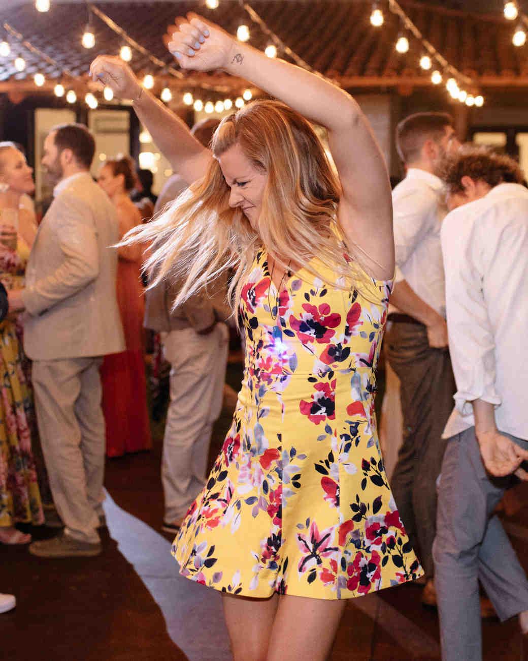 ariel trevor wedding tulum mexico dancing hard