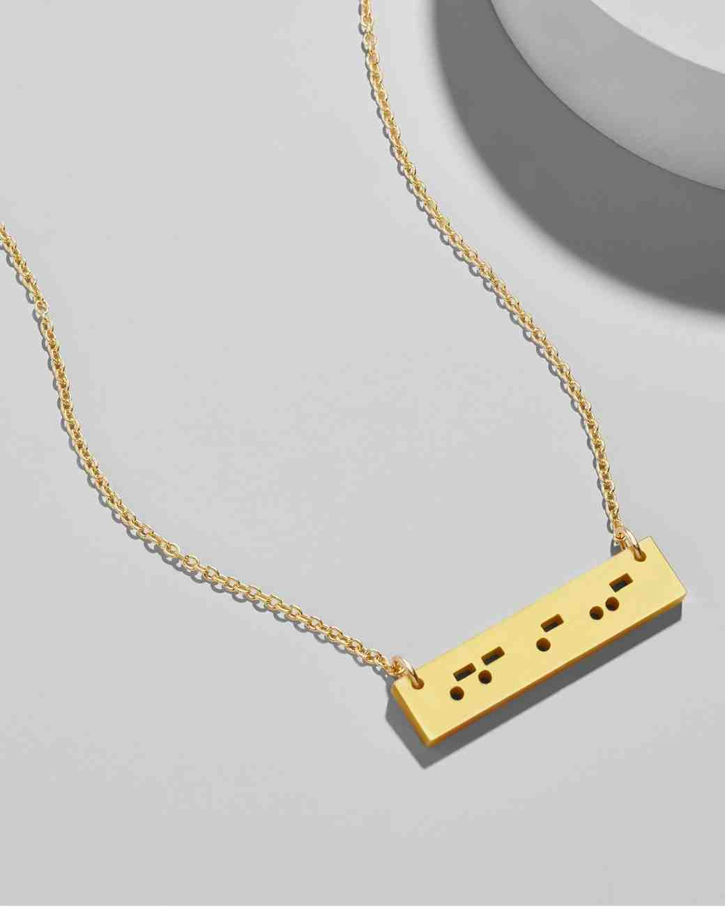 Bridesmaids Gifts Under 50, Bauble Bar Morse Code Necklace