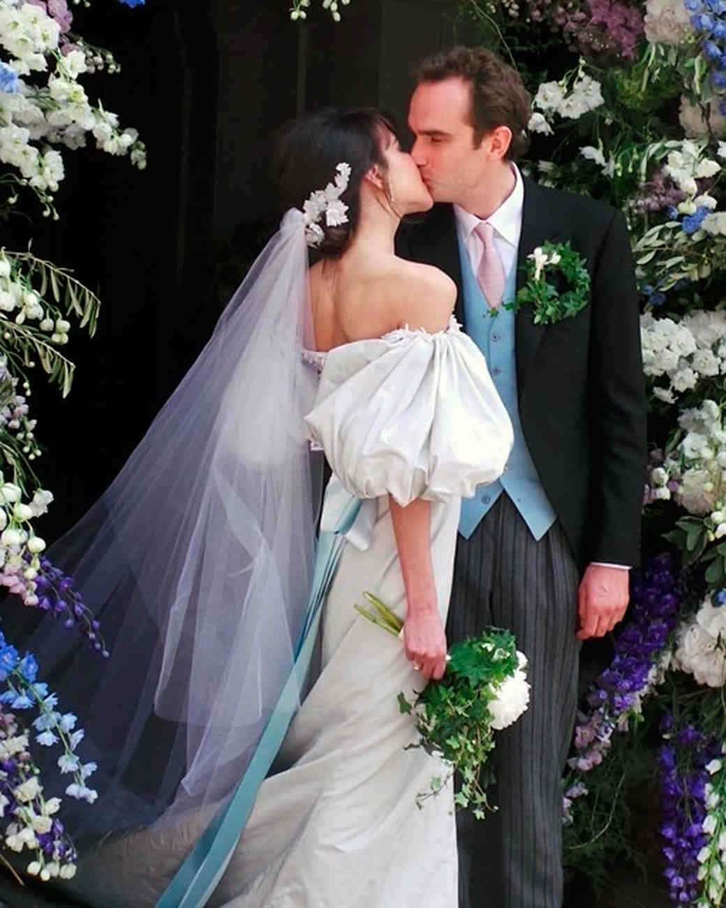 Ugliest Celeb Wedding Dress: Celebrity Brides Who Wore Unconventional Colors On Their