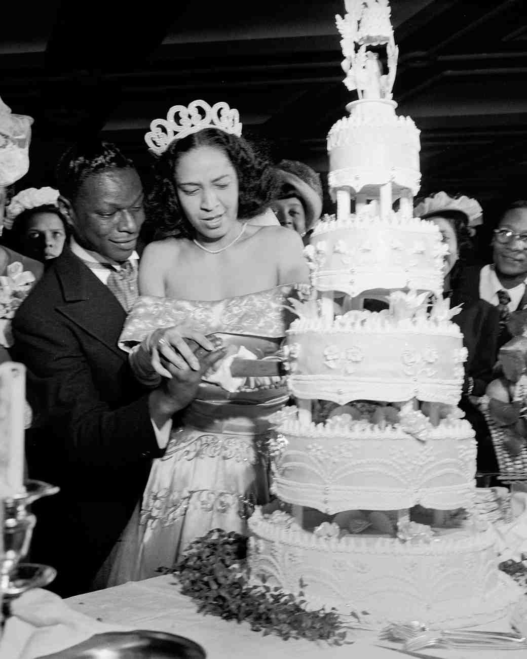 16 vintage celebrity wedding cakes youve probably never seen 16 vintage celebrity wedding cakes youve probably never seen martha stewart weddings junglespirit Choice Image