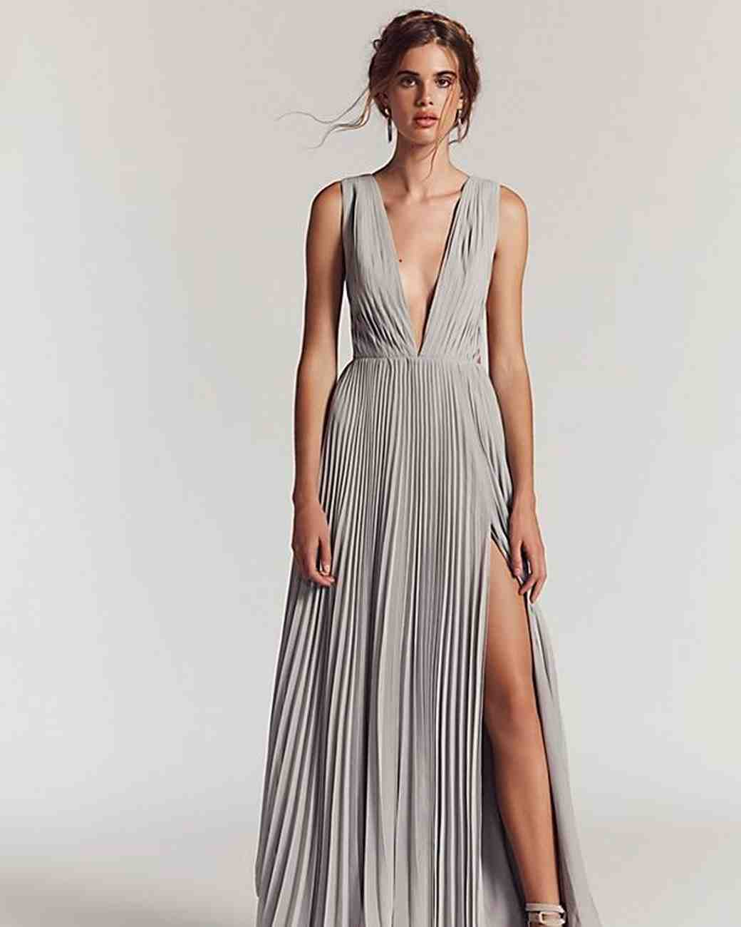 Long Gowns For Wedding Guests: 25 Beautiful Dresses To Wear As A Wedding Guest This Fall