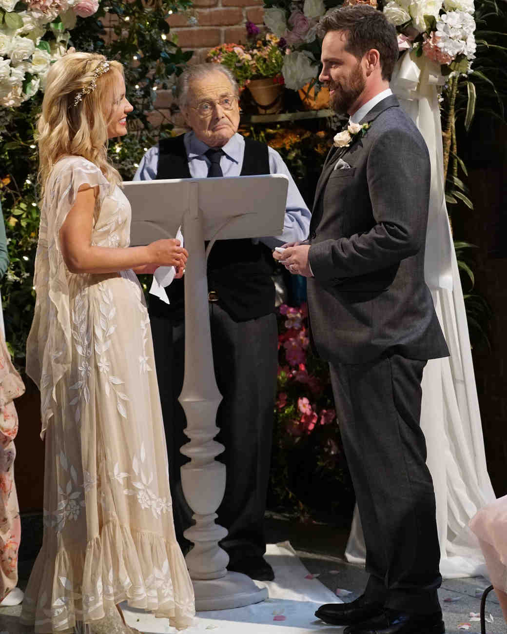 Shawn Hunter and Katy's wedding in Girl Meets World