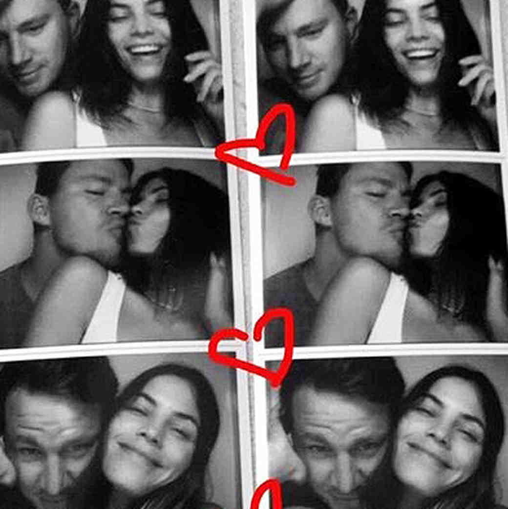 Channing Tatum and Jenna Dewan Tatum Spent Their Anniversary in the Woods