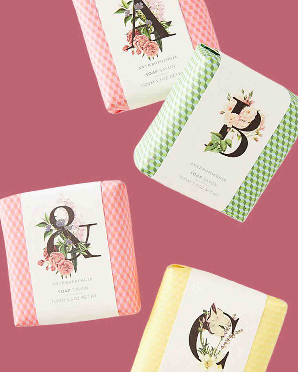 personalized gift garden monogram bar soap