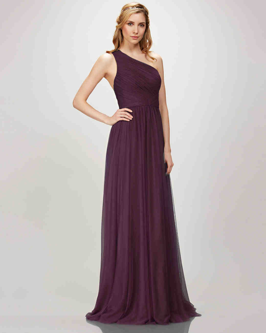 Turquoise And Purple Bridesmaid Dresses | Purple Bridesmaid Dresses Martha Stewart Weddings