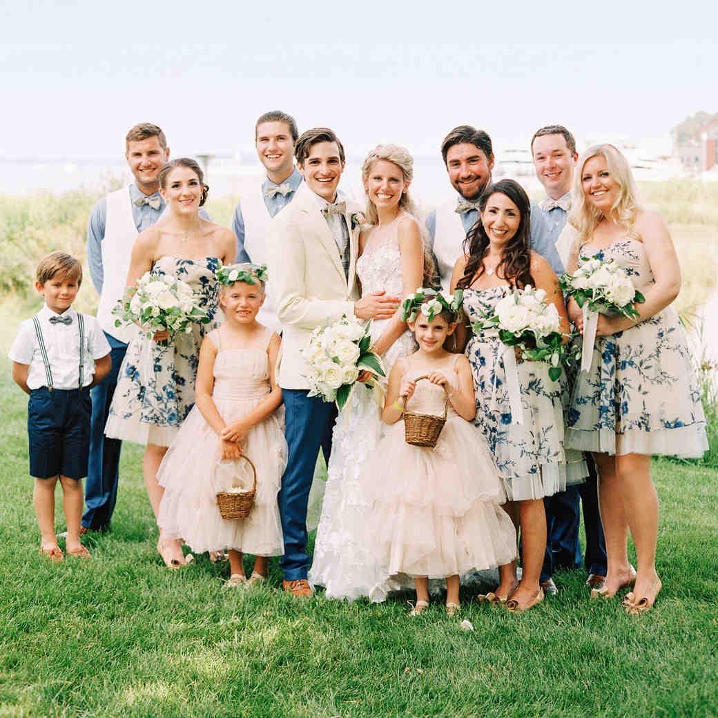 stephanie philip wedding maryland bridal party