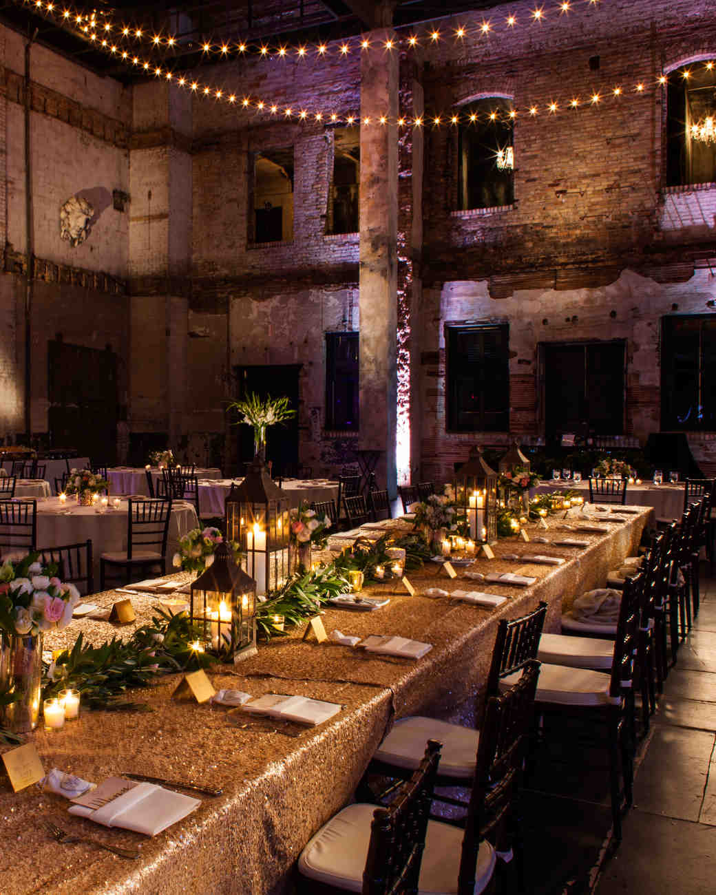 warehouse wedding decor restored warehouses where you can tie the knot martha 8365