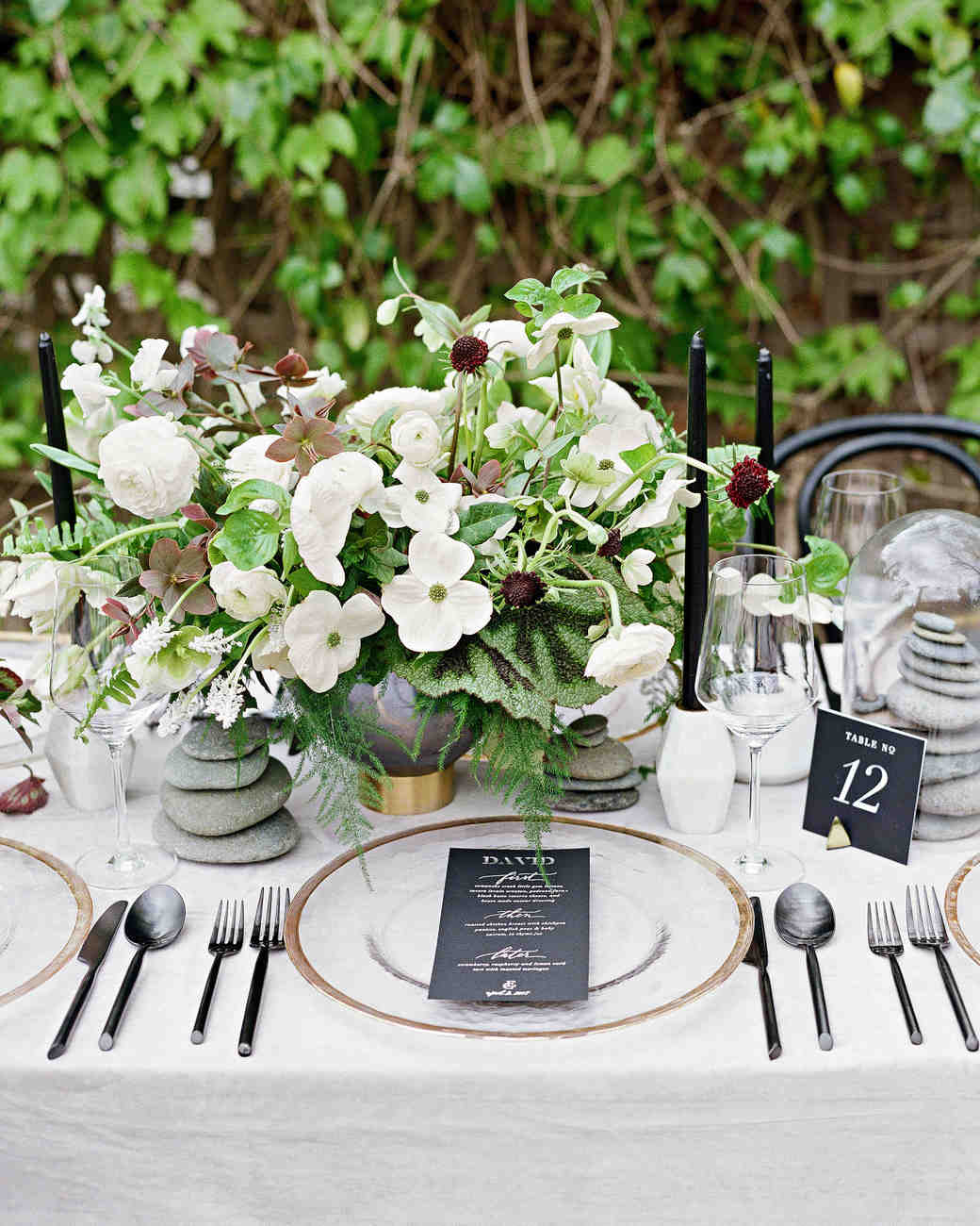 place setting Photography Elizabeth Messina Photography & The Prettiest Place Settings from Real Celebrations | Martha Stewart ...