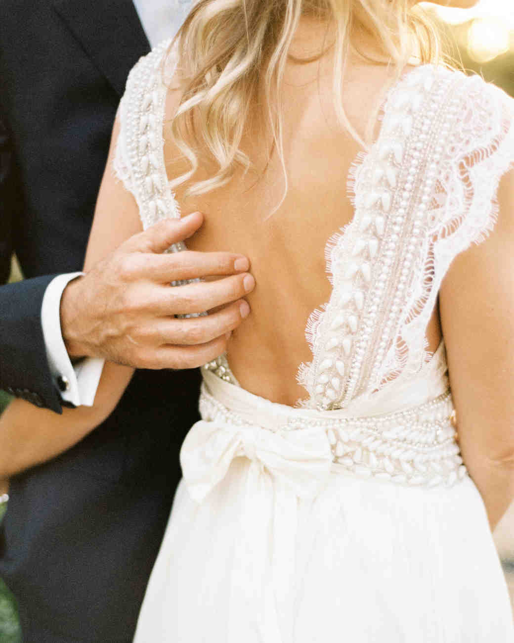 22 Wedding Dresses That Wowed from the Back | Martha Stewart Weddings