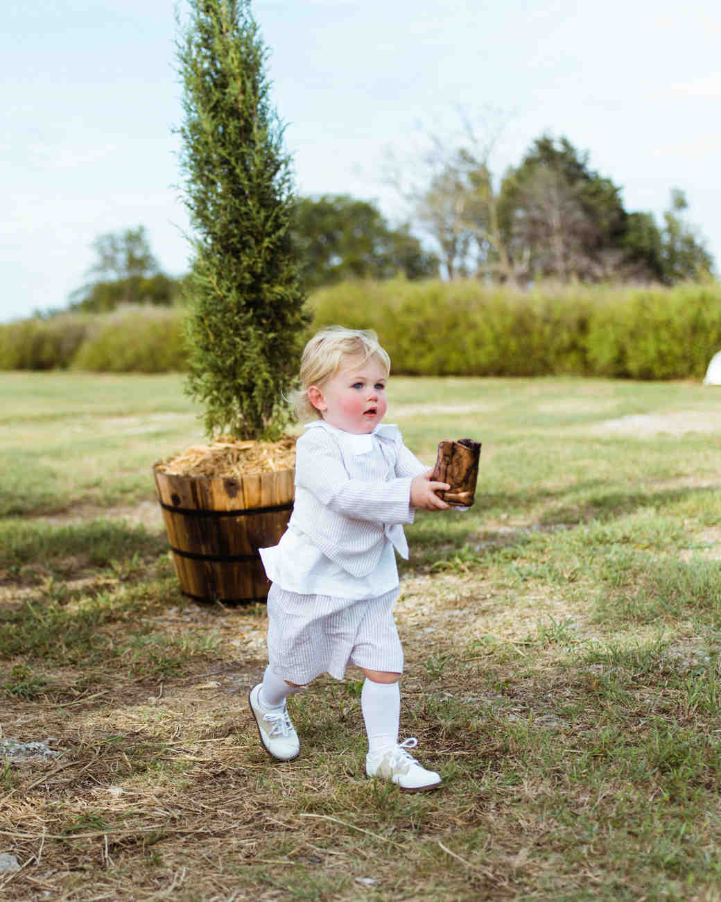 jessika william wedding ringbearer boot