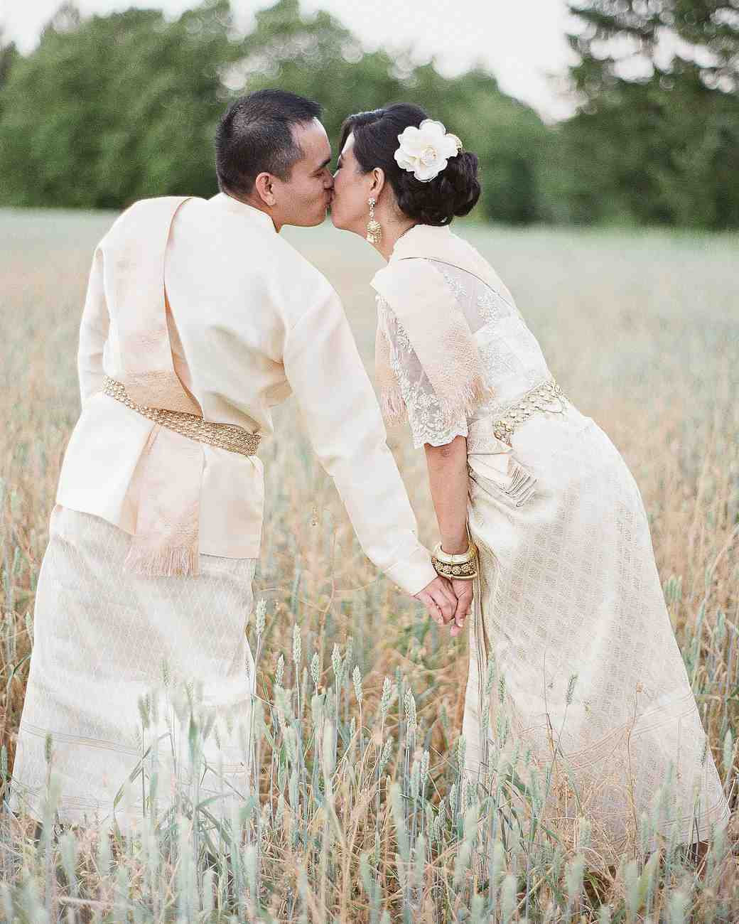 Cambodian Bridal Dresses