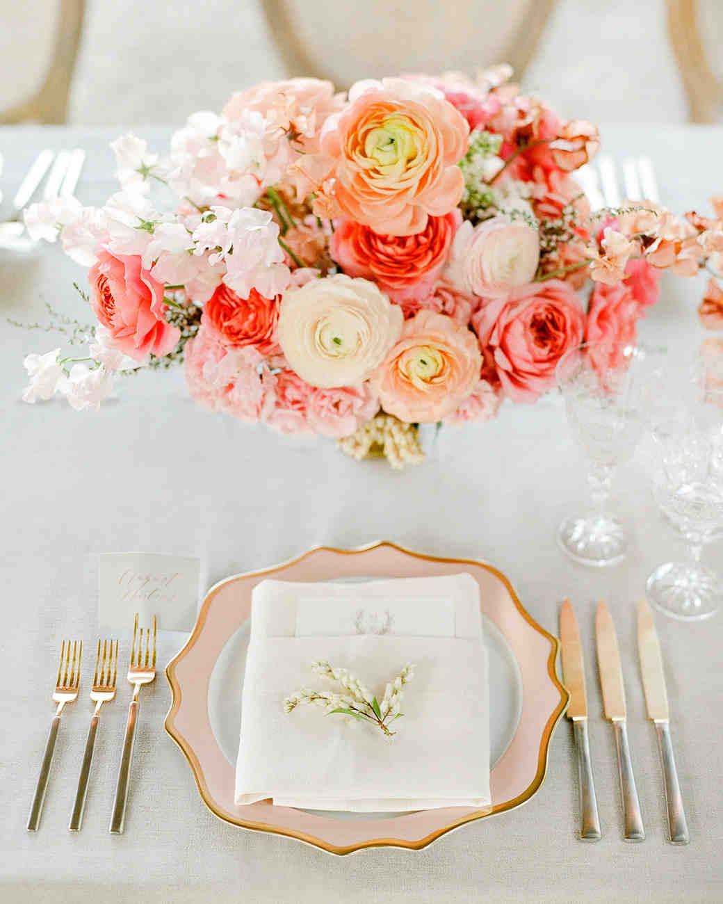 marianne patrick reception place setting