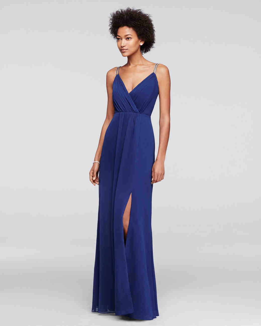 Navy blue bridesmaid dresses martha stewart weddings ombrellifo Gallery