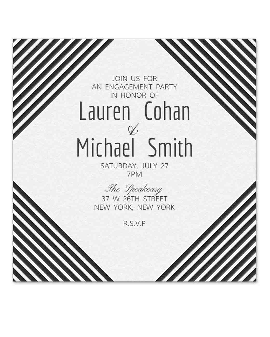 29 Paperless Engagement Party Invitations | Martha Stewart Weddings