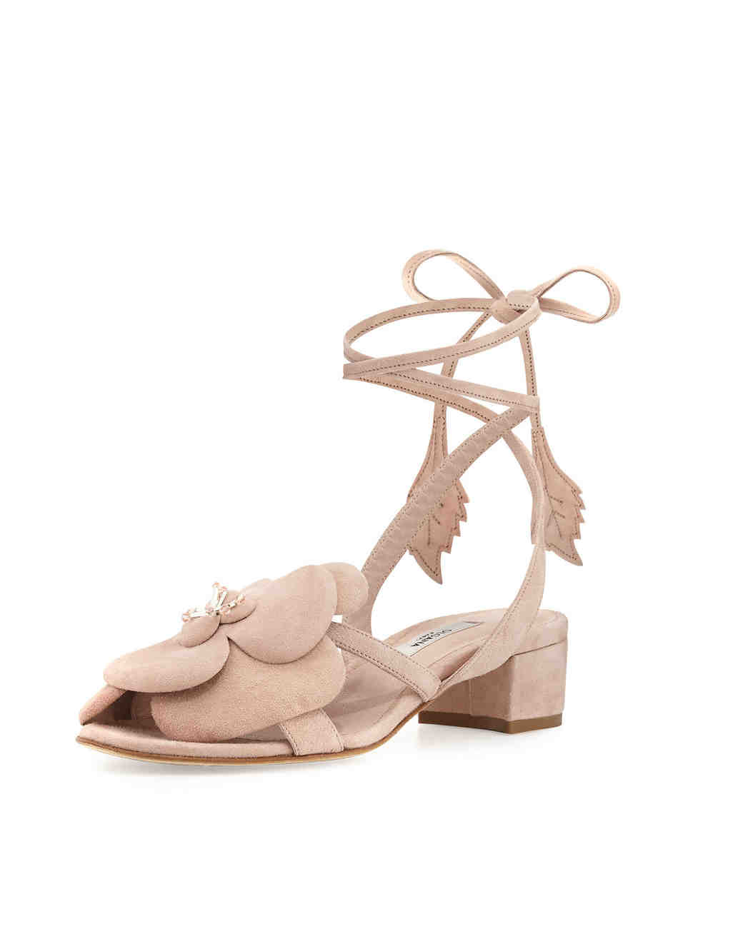 shoes that won't sink Olgana Paris floral lace-up sandal