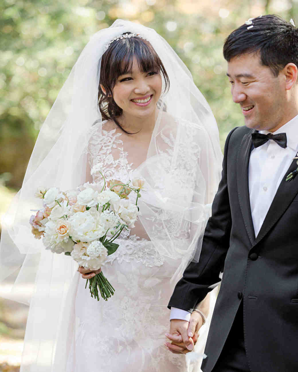 addie richard wedding japan couple holding hands