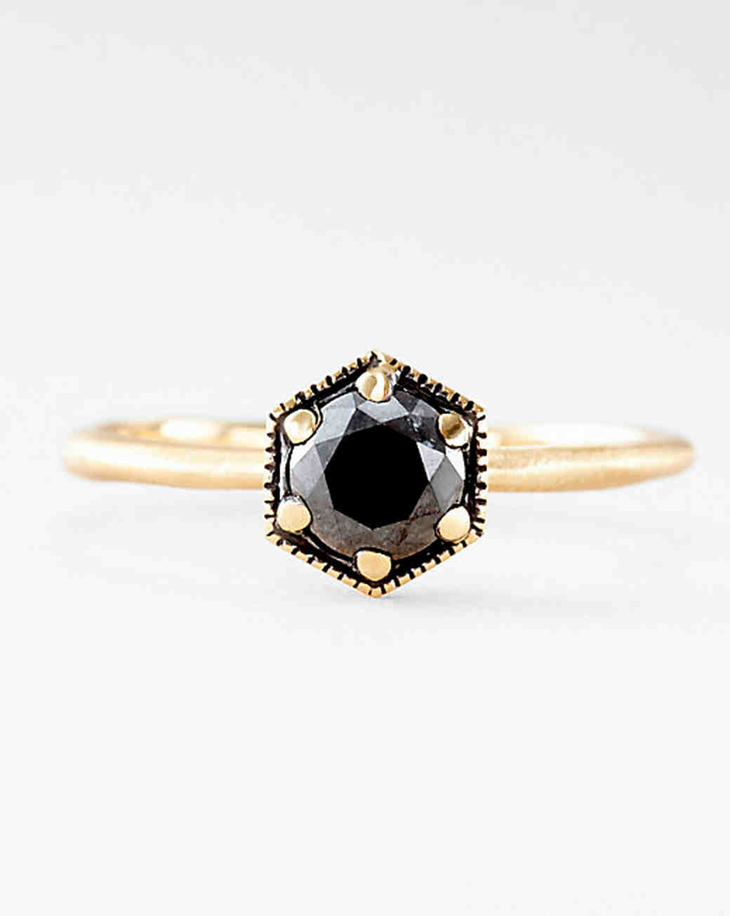 The New Lbd The Little Black Diamond Engagement Ring Martha