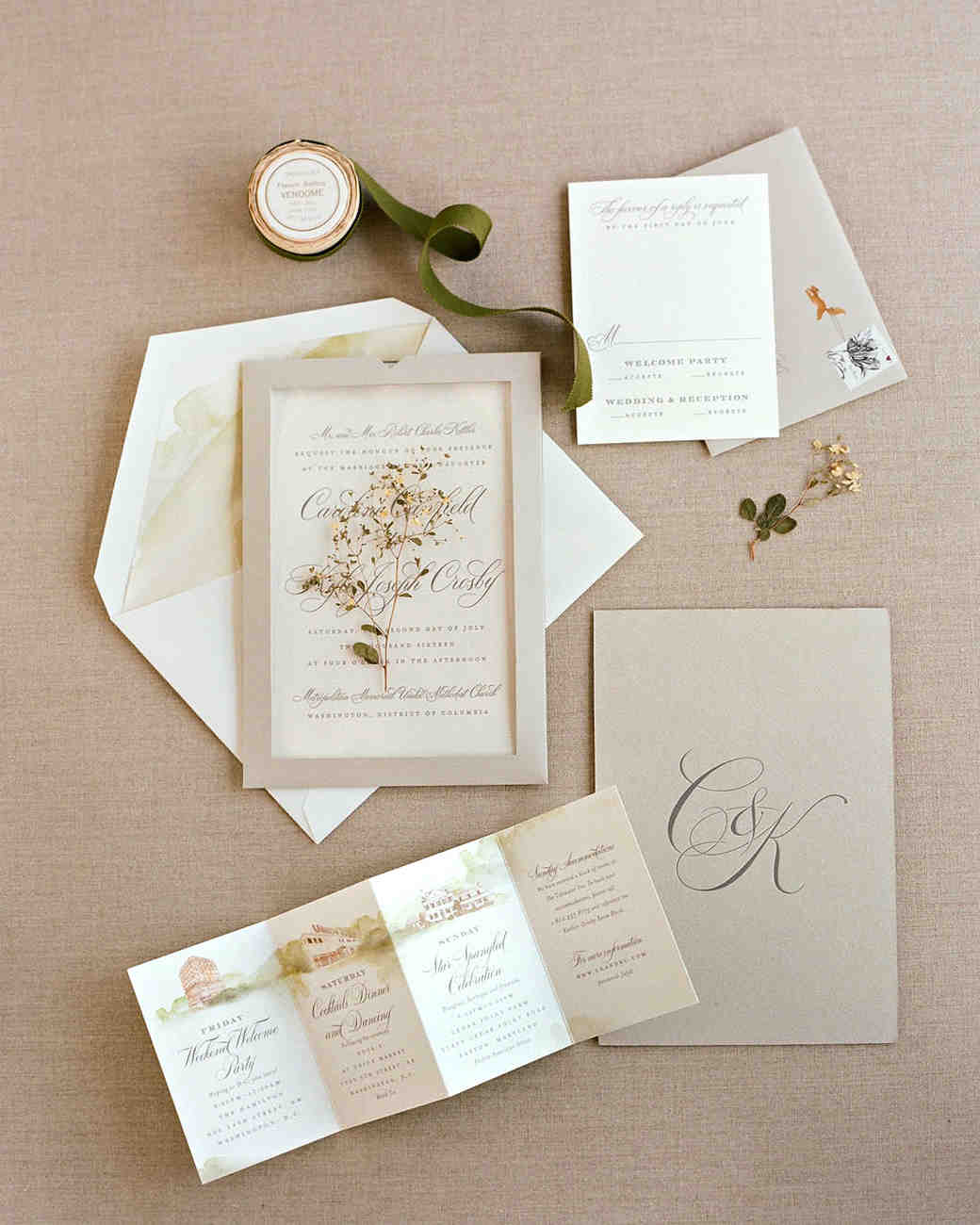 Martha stewart wedding invitation kit mini bridal for Wedding invitation kits martha stewart