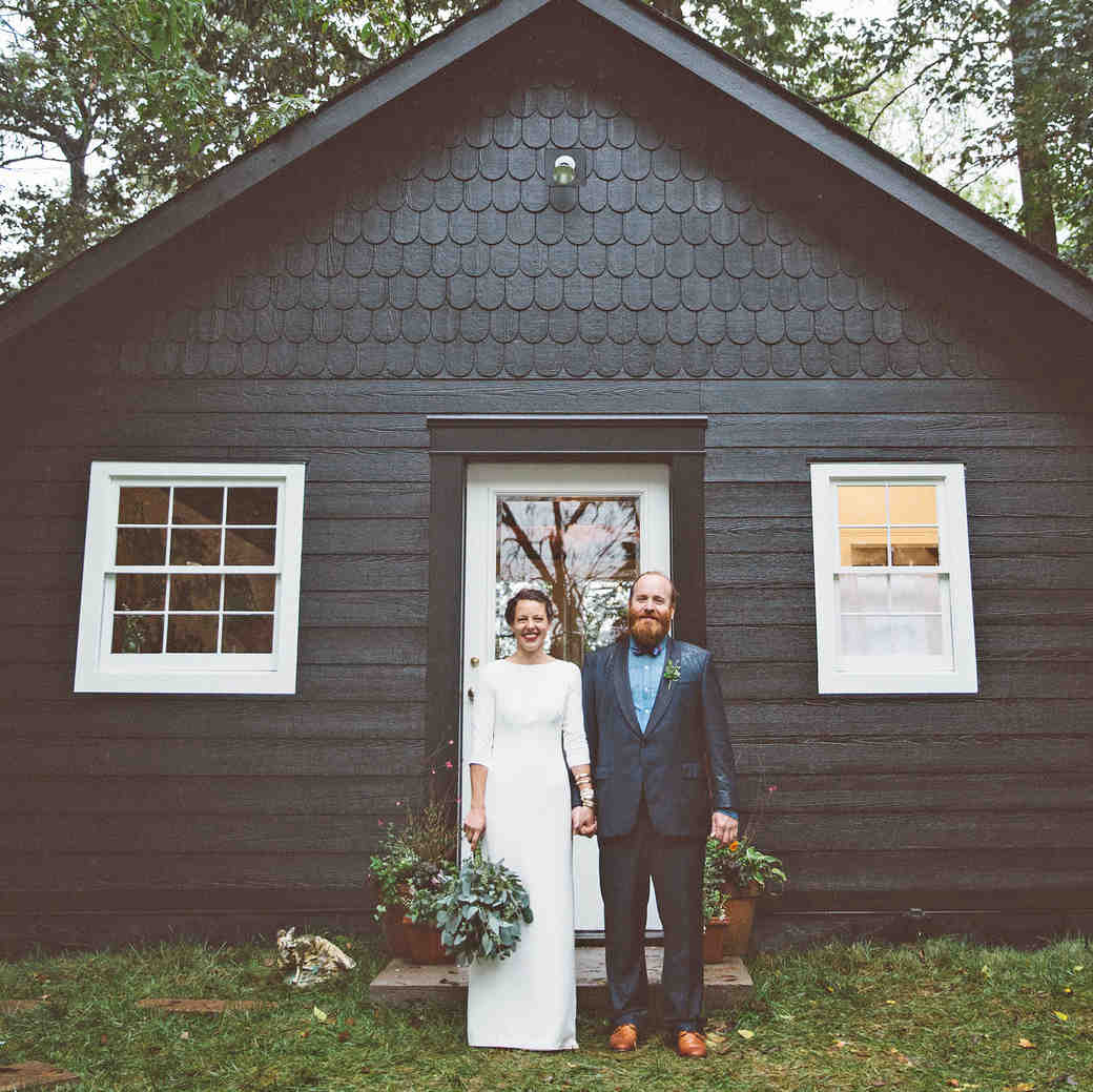 jessie tristan wedding tennessee bride groom cottage