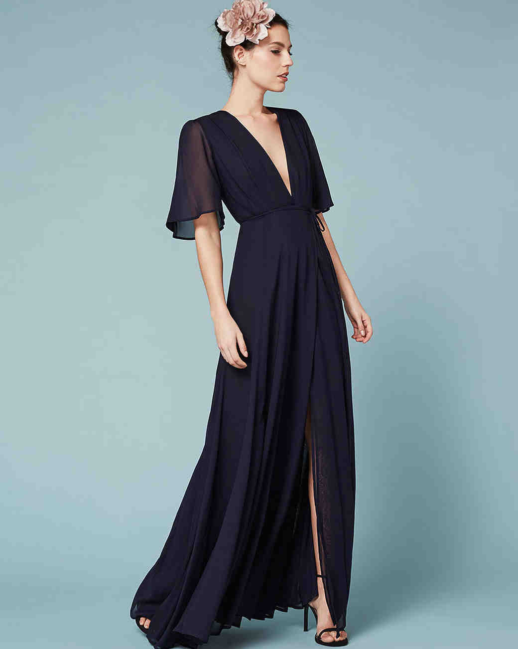 Winter Bridesmaid Dresses For A Cold Weather Wedding Martha Weddings