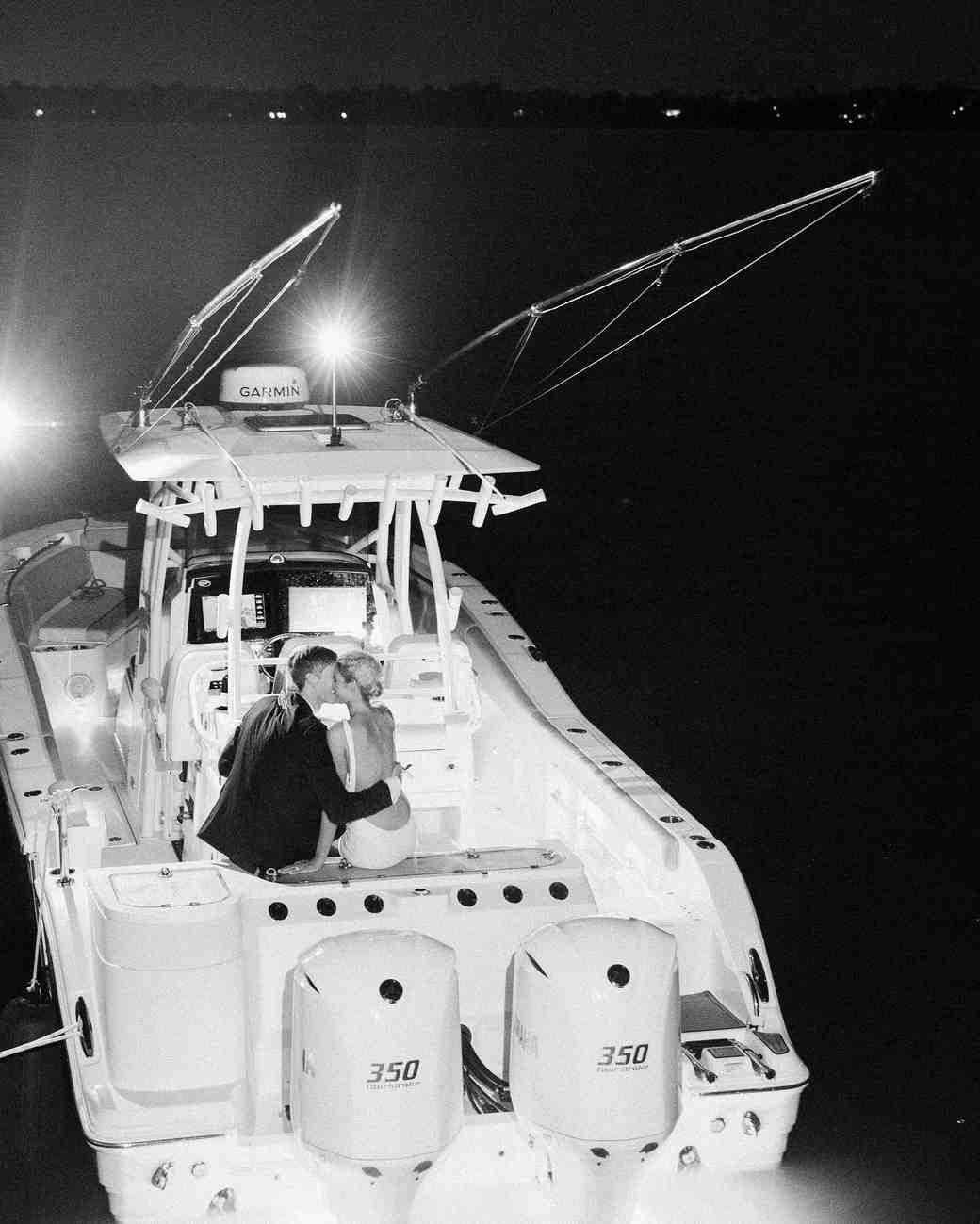 christina matt wedding charleston sc boat getaway
