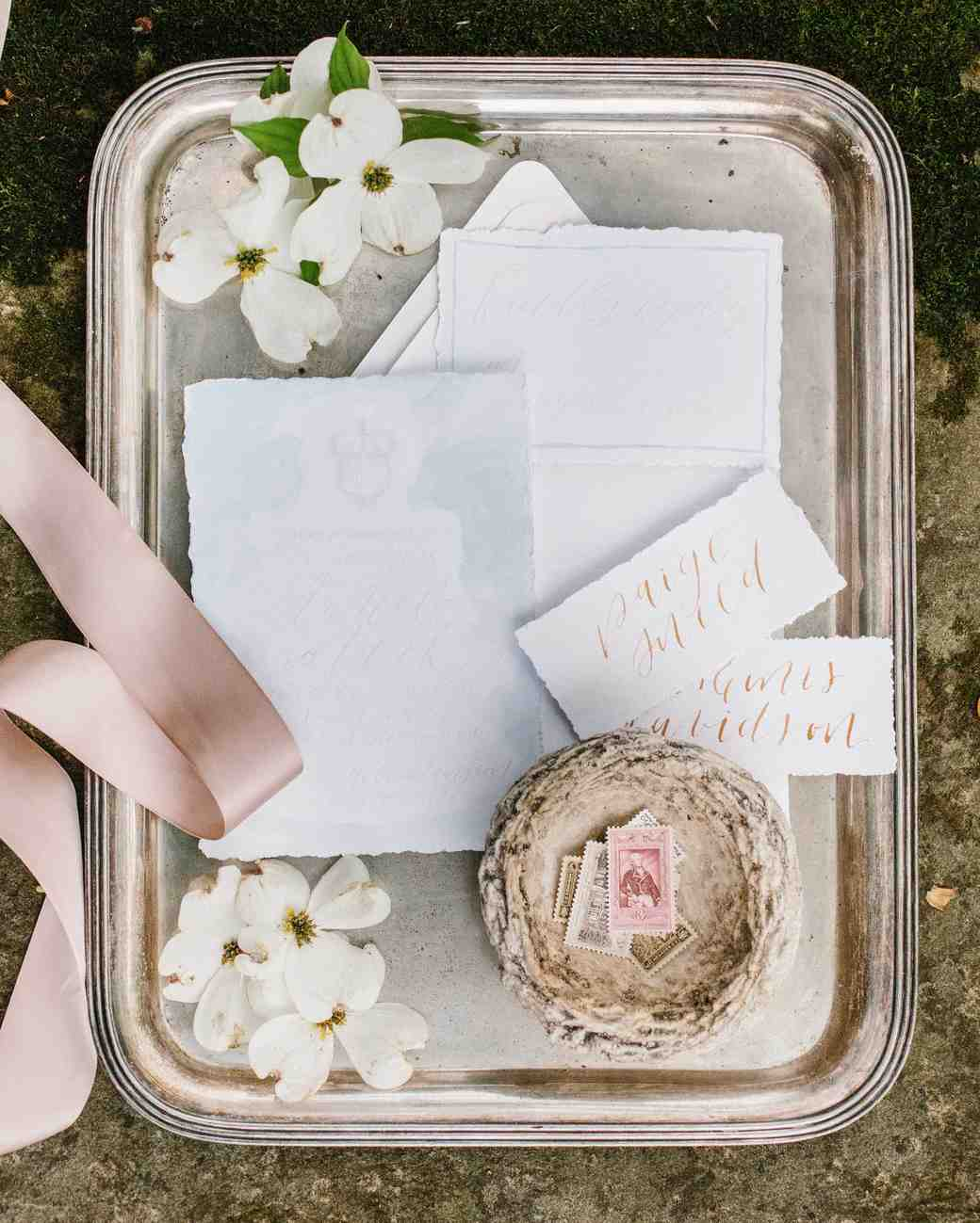 deckle edge invitations kristen hudson nichols photography