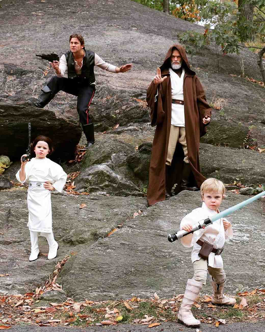 "Neil Patrick Harris and Family in ""Star Wars"" Halloween Costumes"