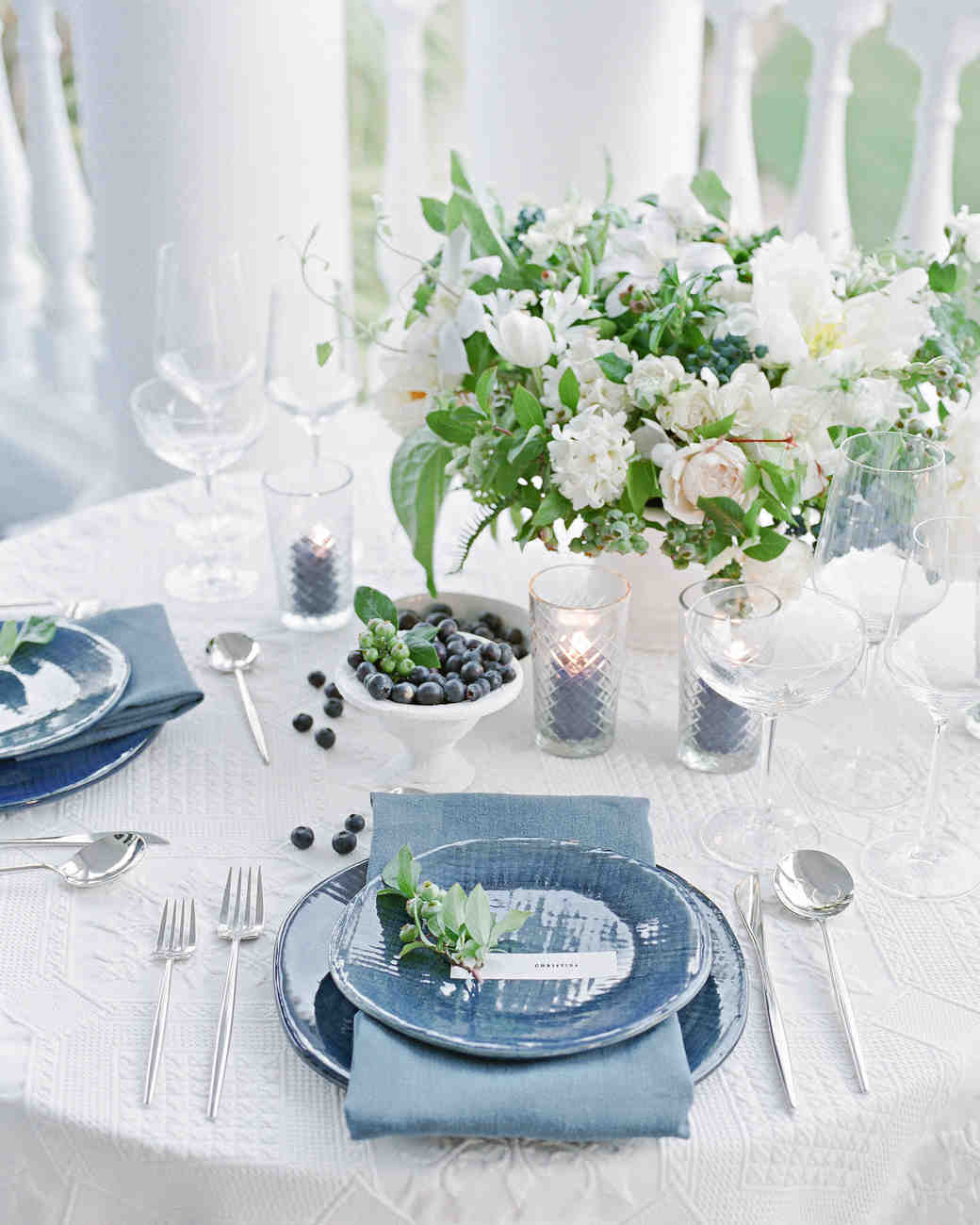 christina matt wedding charleston sc table setting