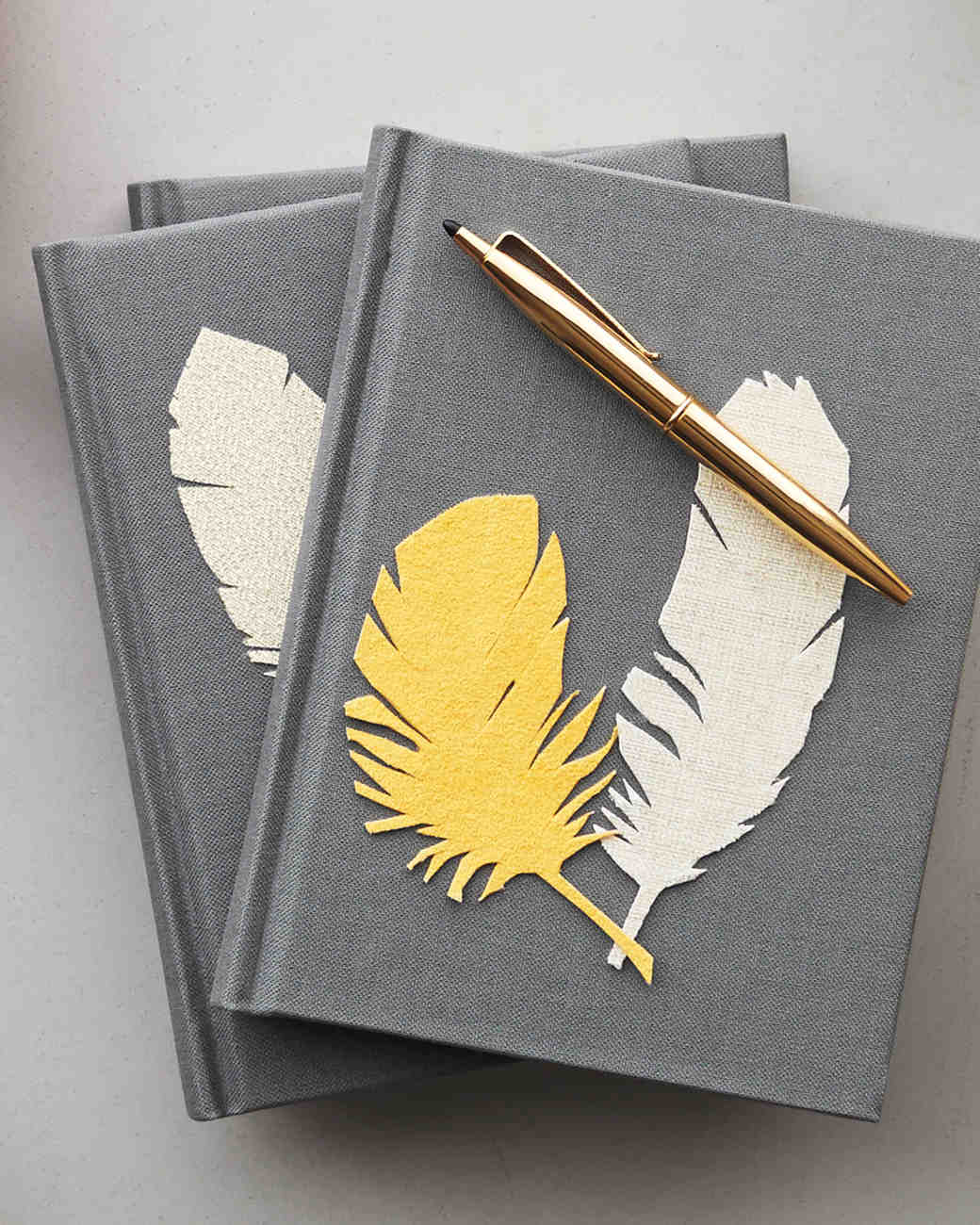 Feather Sticker Notebooks