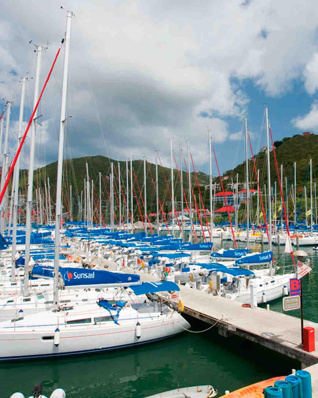 Sunsail Wickhams Cay Marina catamaran