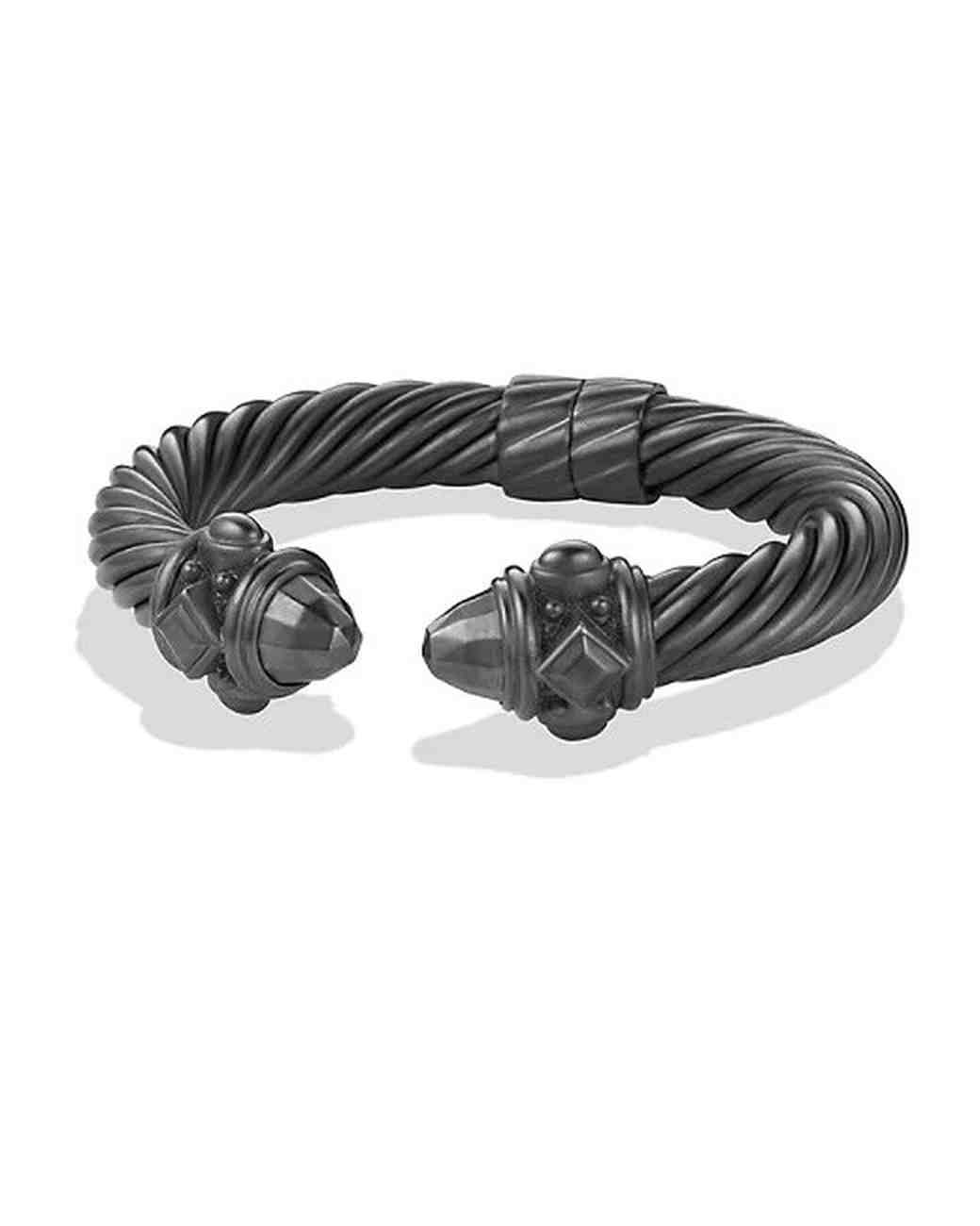 aluminum anniversary gift bracelet