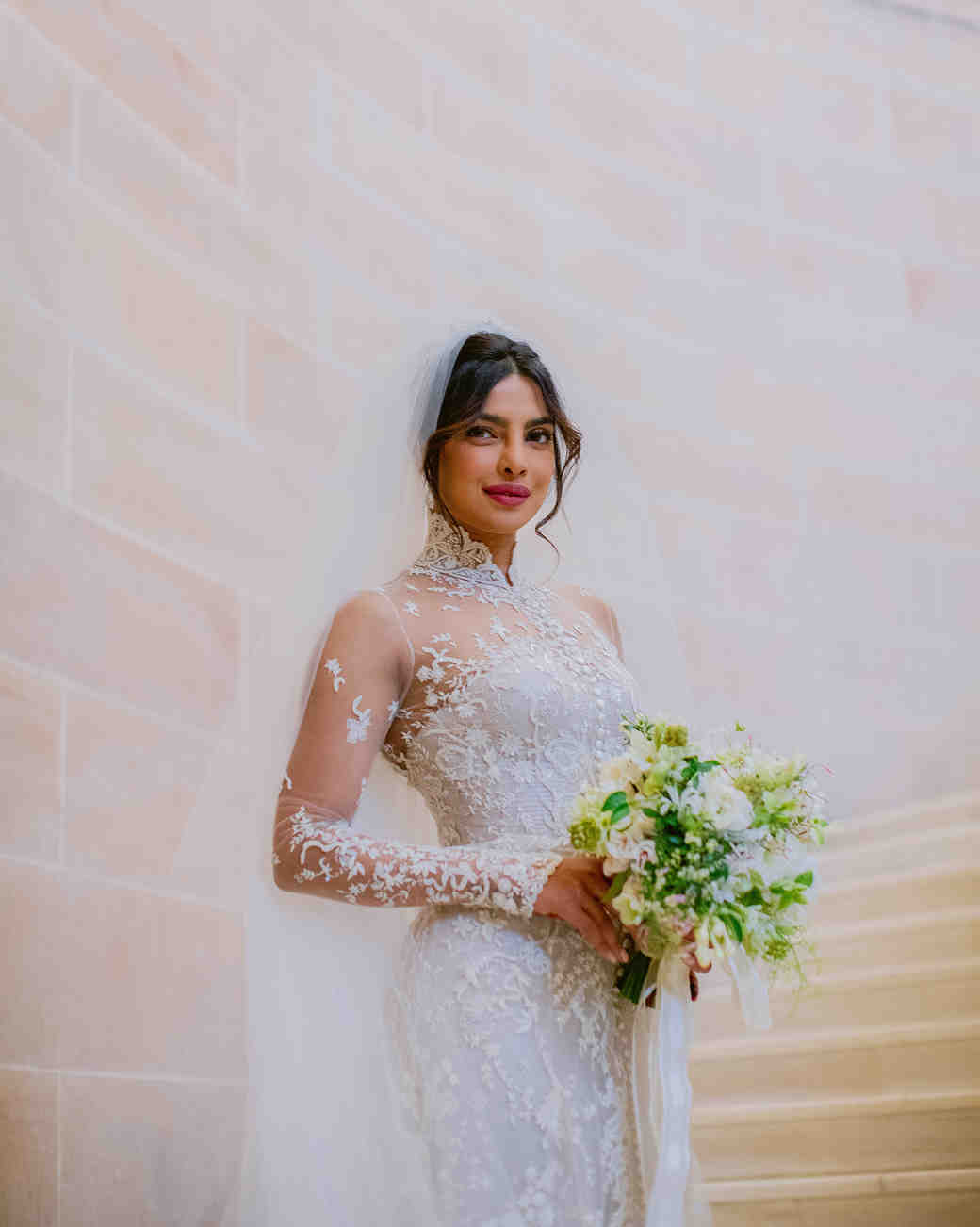 priyanka chopra and nick jonas wedding bouquet