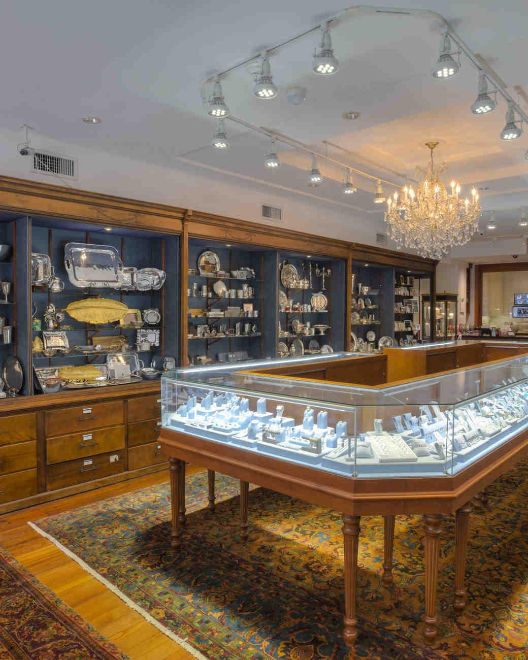 interior of croghans jewel box in charleston