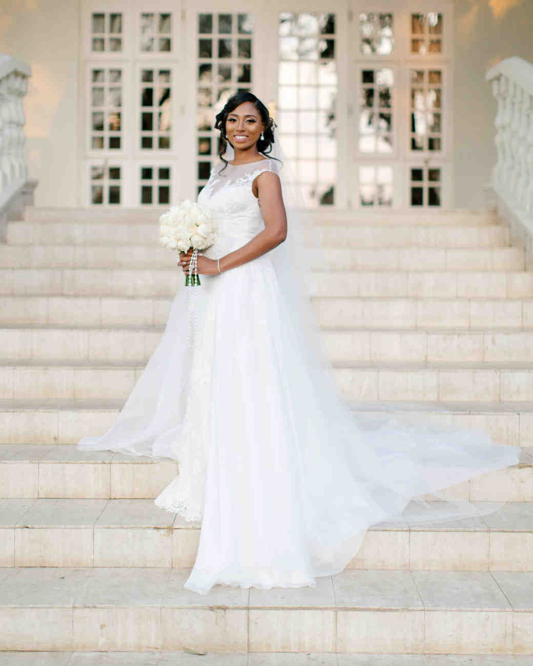 chloe shayo south africa wedding bride dress steps