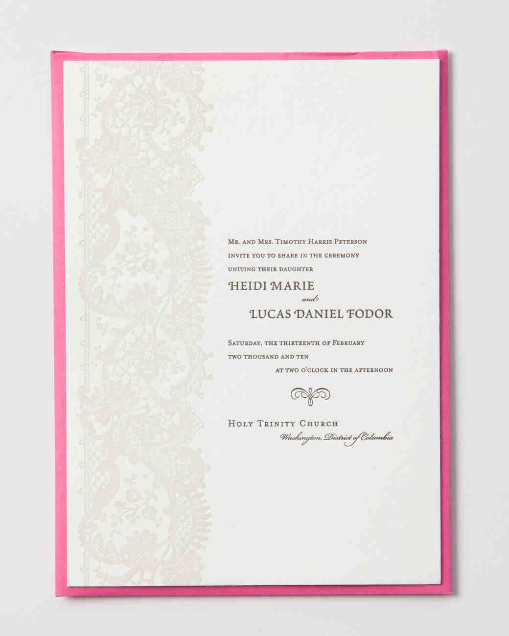 9 Host Line Scenarios to Make Wording Your Wedding Invitations Super