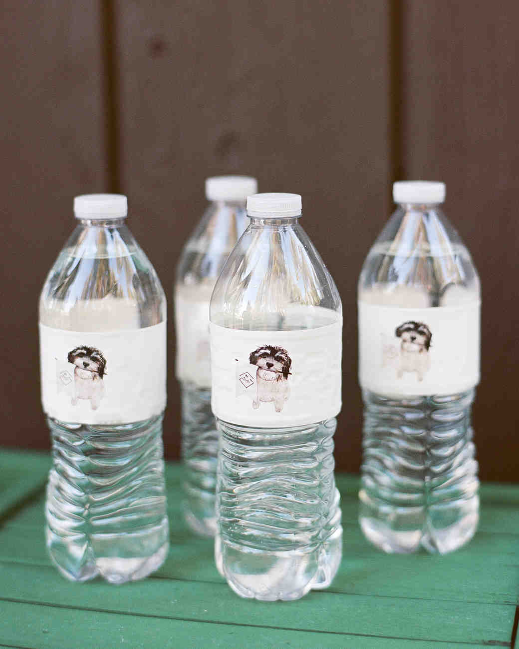 kaitlin jeremy rehearsal dinner personalized water bottles