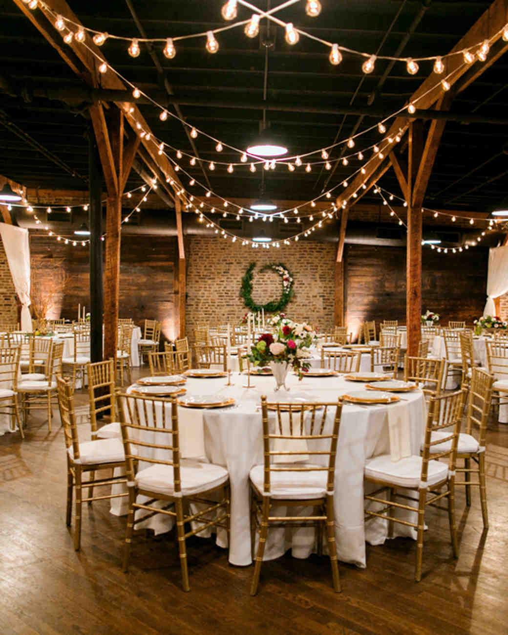 How to create an original design of halls for a wedding