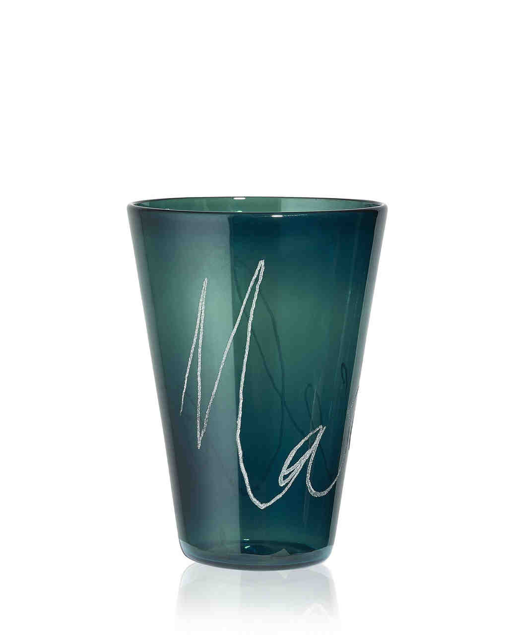 custom glass cup