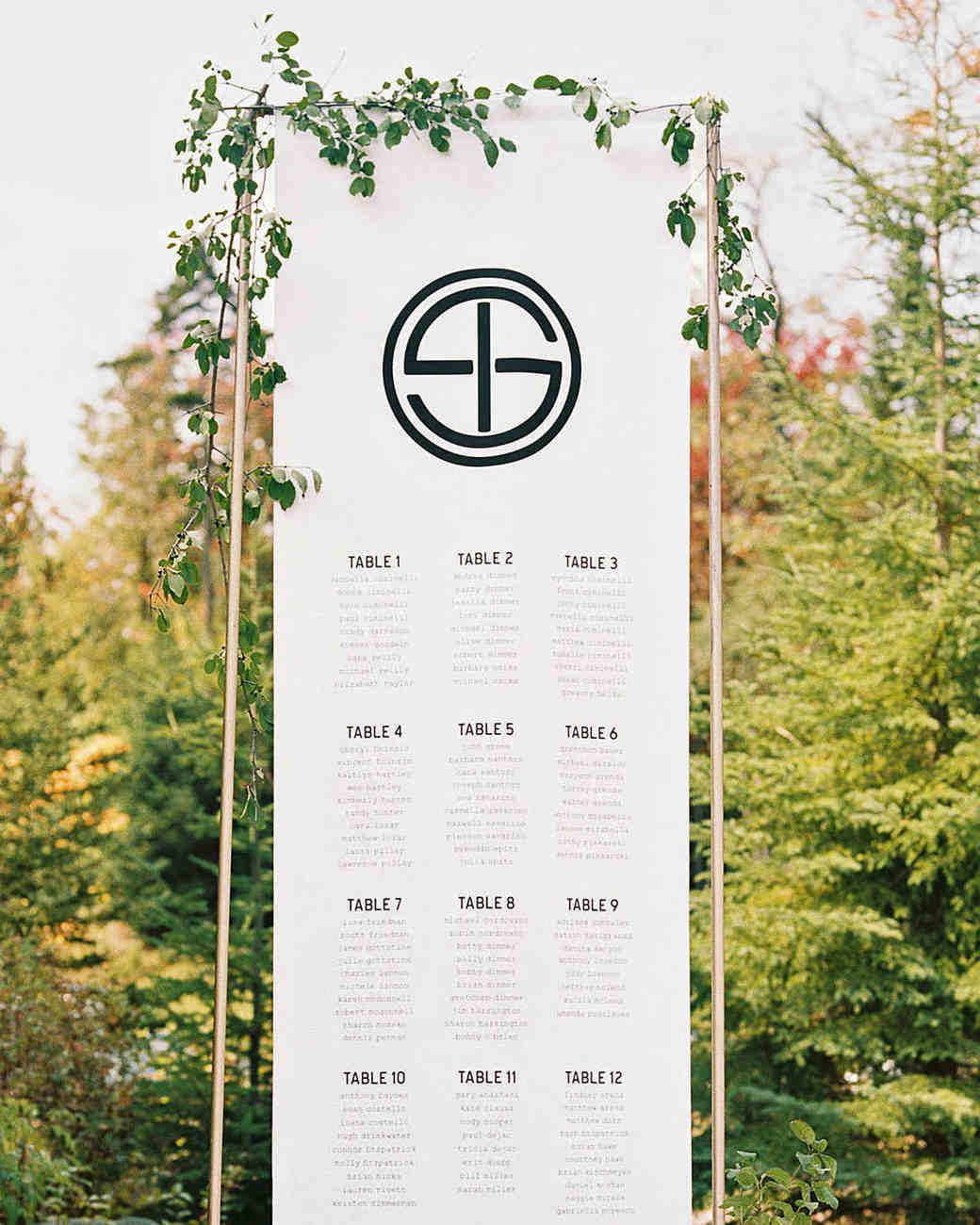 tory sean wedding lake placid new york seating chart