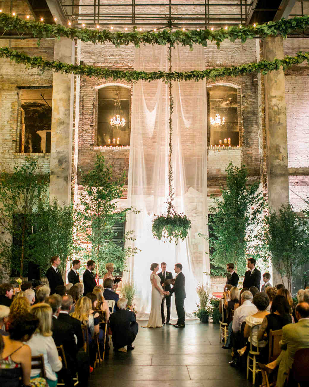 Restored warehouses where you can tie the knot martha stewart weddings junglespirit Choice Image